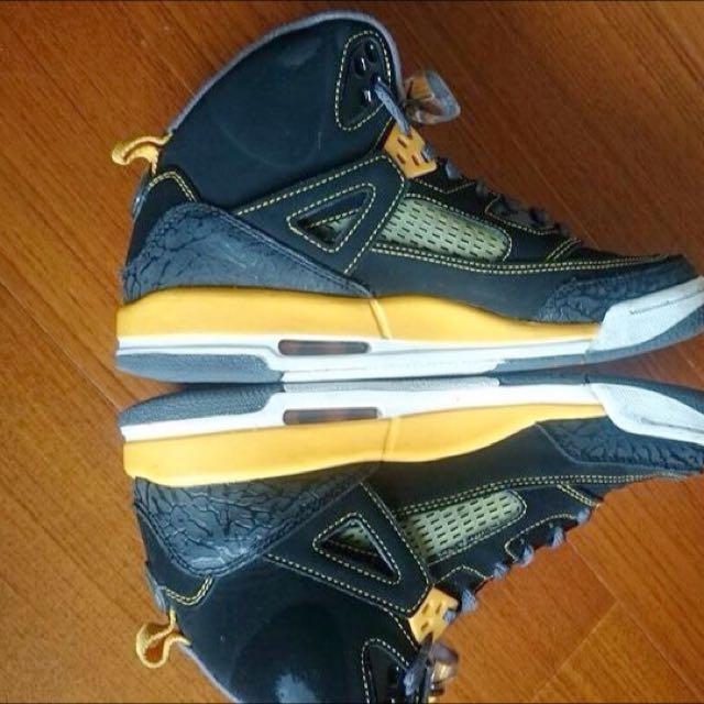 Air Jordan Spizike Brooklyn黑黃