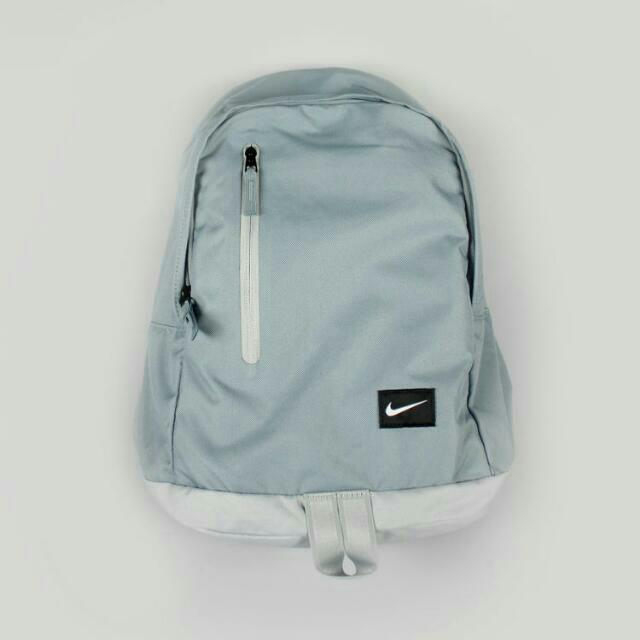 Nike Original Backpack 後背包 淺灰藍