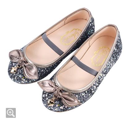 Swan天鵝牌童鞋 璀燦亮片金蔥娃娃鞋