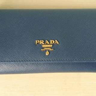 Used Prada Bluette Wallet