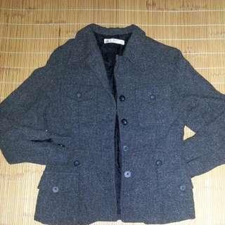 (免運)〔全新〕黑色長外套