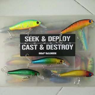 Catalina Minnow Lure Fishing Shallow Diving
