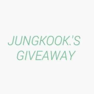 JUNGKOOK'S 1ST BTS MINI GIVEAWAY REPOST