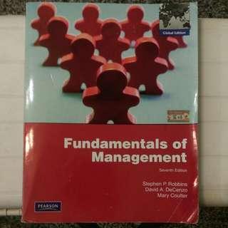 管理學 Fundamentals of Management