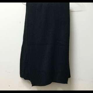 全新 ▪️ 黑色針織圍巾