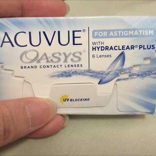 Acuvue Oasys Astigmatism Clear Lens