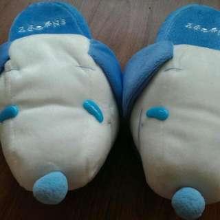 厚底暖暖拖鞋