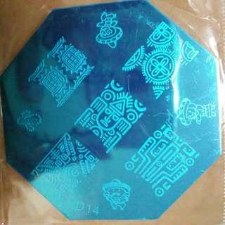 Nail Stamp D14