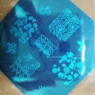 Nail Stamp Qa66
