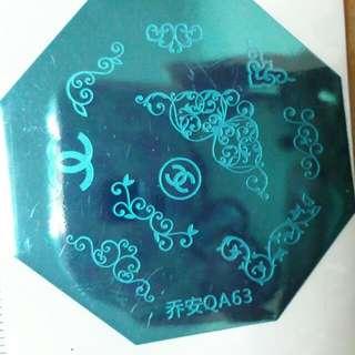 Nail Stamp Qa63