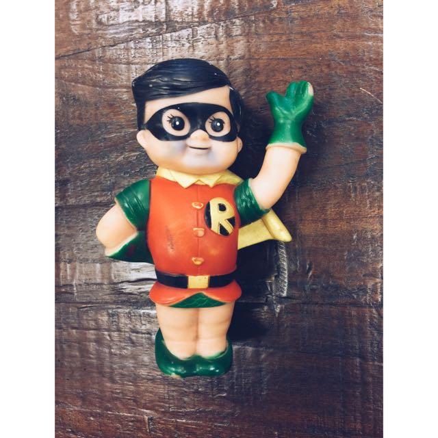 1978年 - 古董玩具- 羅賓漢 - 橡膠 - 娃娃