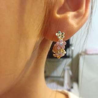 降💕鋼飾耳環