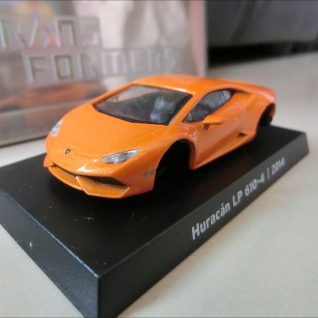 全新7-11 藍寶堅尼 模型車 全套八款  橘色五號