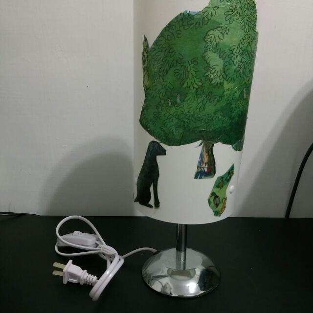 蝶古巴特檯燈(個人作品)