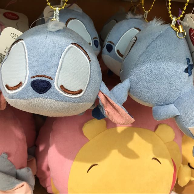 東京迪士尼史迪奇舒適 迪士尼專賣店限定 珠鍊娃 吊飾 飾品