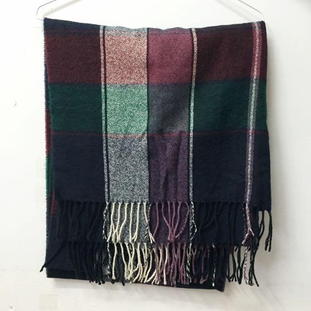 全新 ▪️ 格紋圍巾