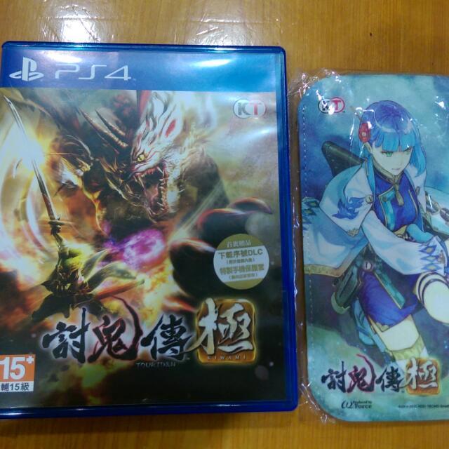 售 PS4 討鬼傳 極 中文版附手機套