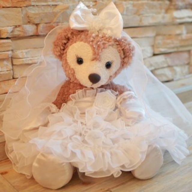 🇯🇵✨Disney wedding迪士尼Duffy Bear結婚大型公仔