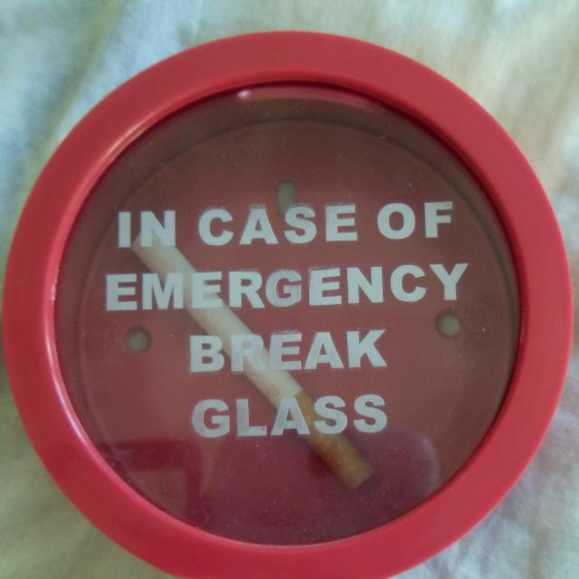 Free Shipping IN EMERGENCY BREAK GLASS