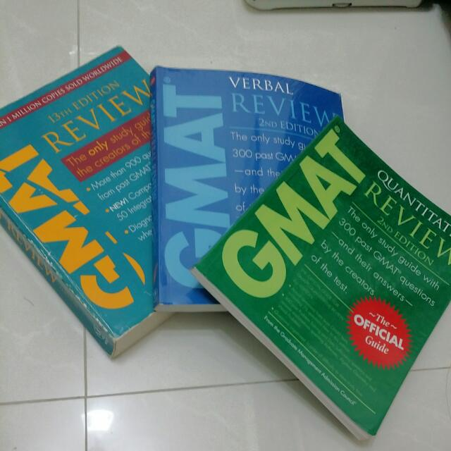 GMAT Official Guides Verbal & Quant
