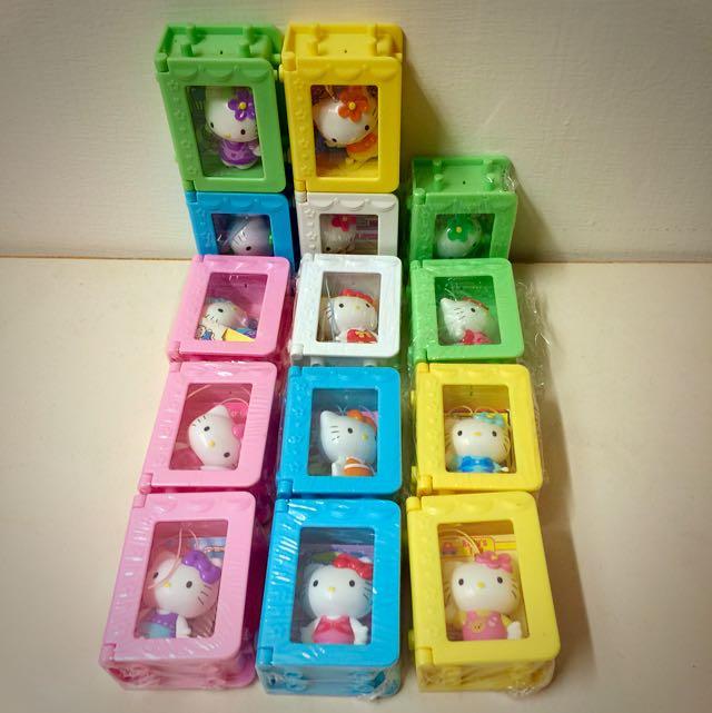 Hello Kitty 收藏公仔 可組合