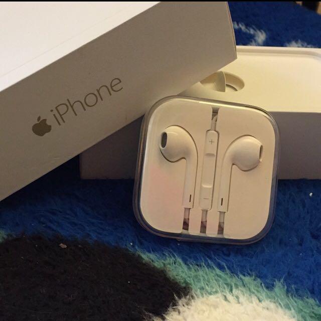 Iphone原廠耳機全新