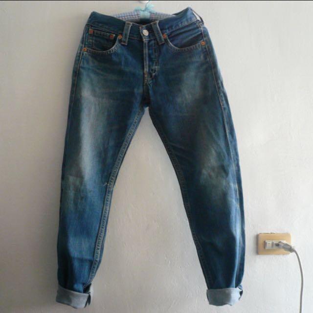 Levi's 二手洗舊牛仔褲