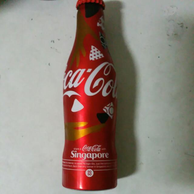 Limited Edition  SG50 Coca Cola Aluminium Bottle