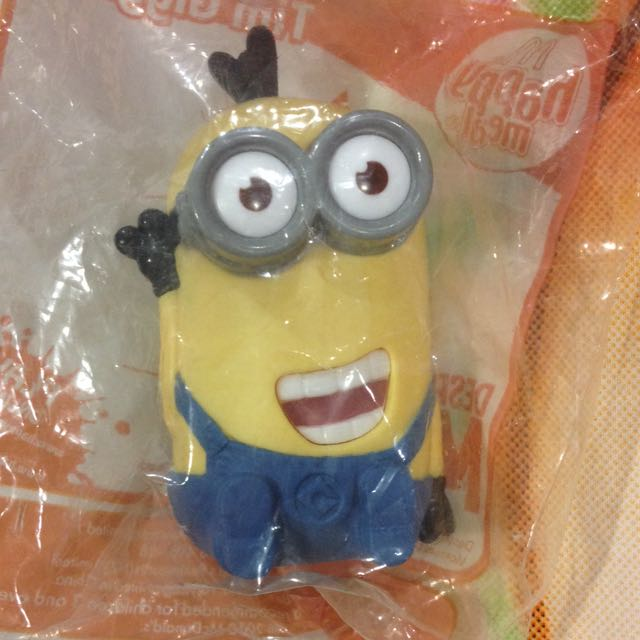 McDonalds Minion Toy! Brand New In Pack