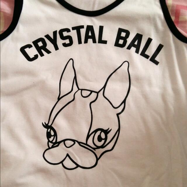 Pazzo  CRYSTAL BALL聯名款背心