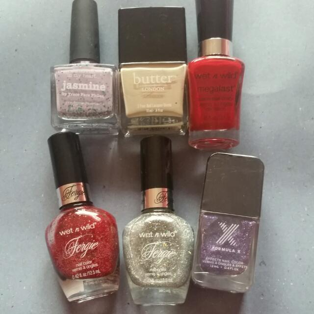 Nail Polish For Sale! Wet N Wild, Picture Polish, Butter London ...
