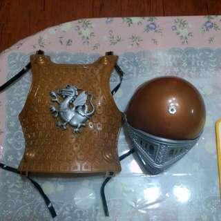 萬聖節裝扮鐵甲武士