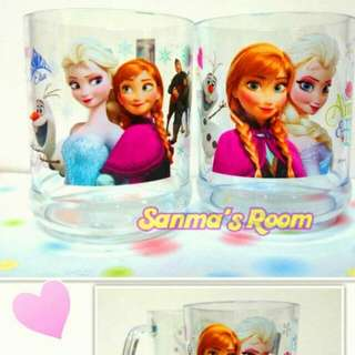 日本景品 冰雪奇緣透明飲料杯 單個售 冰雪奇緣漱口杯