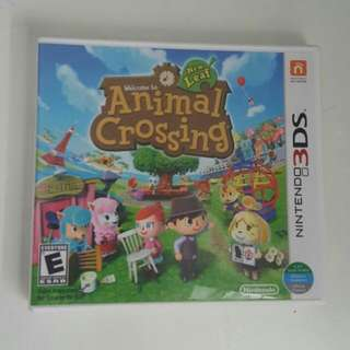 Animal Crossing 3DS Game