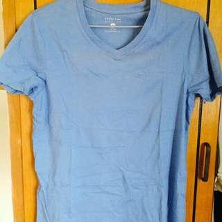 ⚡️二手 Net 藍色舒適 Tshirt