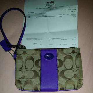 [Best Deal $80mailed] As Good As New Authentic Coach Wristlet Use Only Once