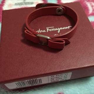 Ferragamo Leather Bracelet *repriced*