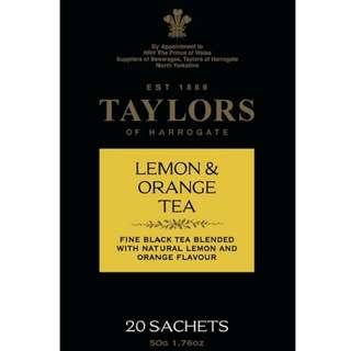 英國泰勒茶 檸檬香橘茶