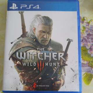 PS4 Witcher 3 (Reserved)