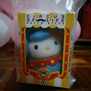 Circus Of Life Hello Kitty Mcdonald's Soft Toy