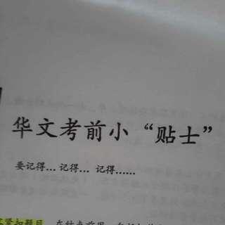 NYPS P6 GEP Pre-PSLE Chinese Handbook
