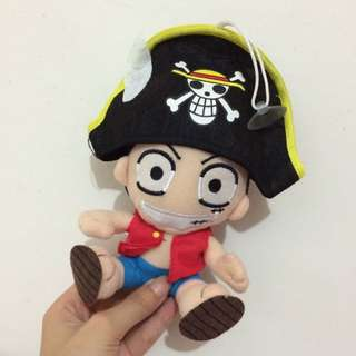 #我愛浪浪 可愛復古海賊王魯夫玩偶 吊飾