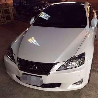 🔺最後降價⬇️⬇️⬇️賠售 Lexus IS250 Navi版
