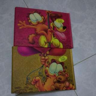 Garfield CD Holder File + Pouches