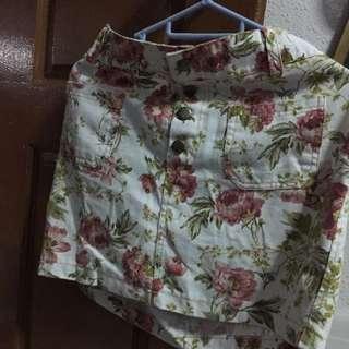 Pretty Flower Skirt (stretchable)