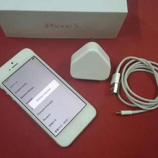 WTT: iphone 5 16GB white to .....