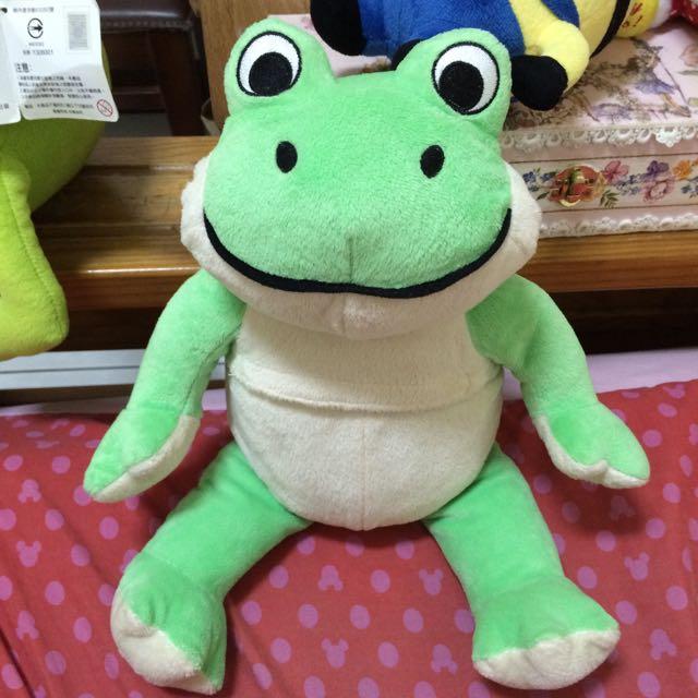 青蛙娃娃可熱敷