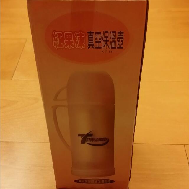 東元  紅果凍真空保溫壺
