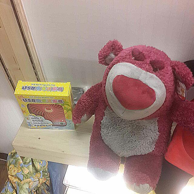 《芭辣夯貨》正版 熊抱哥 娃娃