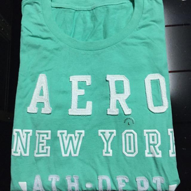 美國特價 AERO 女短袖T (L號)
